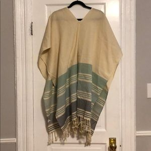 Tribe Alive poncho, brand new